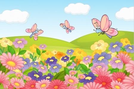 שעת סיפור ותנועה: שלושת הפרפרים